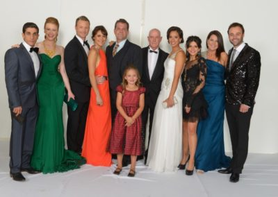 55th TV Week Logie Awards with the cast of House Husbands, 2013