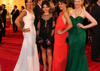 55th TV Week Logie Awards Red Carpet with Georgia Flood, Natalie Saleeba and Anna McGahan, 2013